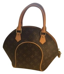 Louis Vuitton Dustbag Coated Canvas Ellipse Pm Satchel in Monogram
