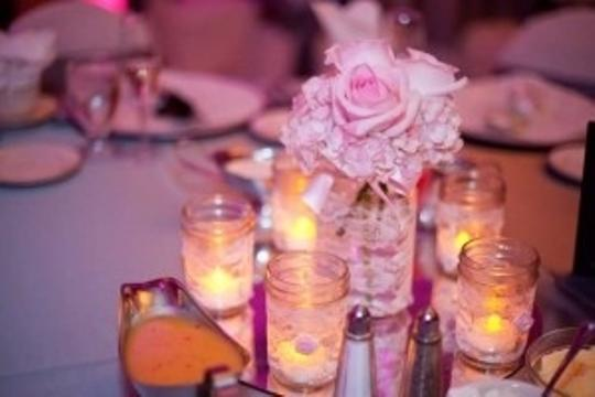 Preload https://img-static.tradesy.com/item/200004/whitepink-vintage-inspired-lace-mason-jars-centerpiece-0-0-540-540.jpg