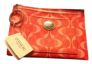 Coach Coach Peyton Dream C Small SKINNY Wallet with Key ring NWT F50535
