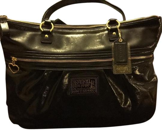 Preload https://item5.tradesy.com/images/coach-daisy-liquid-black-patent-leather-tote-20000524-0-1.jpg?width=440&height=440