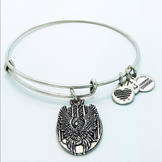 Alex and Ani Alex and Ani Guardian of Love silver finish bangle