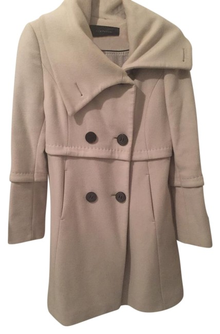Preload https://item5.tradesy.com/images/elie-tahari-off-whitegrey-pea-coat-size-8-m-20000654-0-1.jpg?width=400&height=650