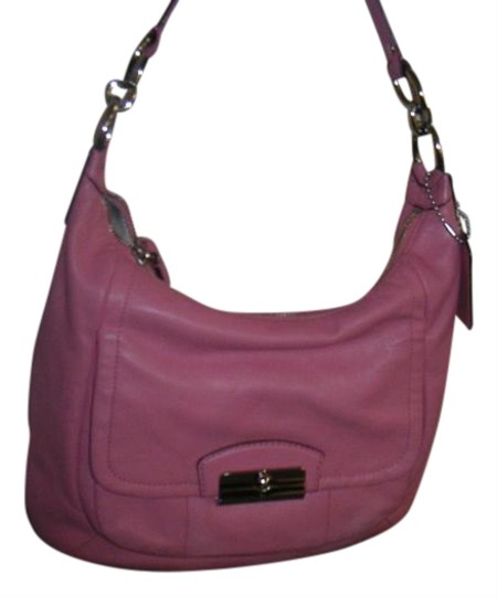Preload https://item5.tradesy.com/images/coach-kristin-hobo-22306-pink-leather-tote-20000674-0-1.jpg?width=440&height=440