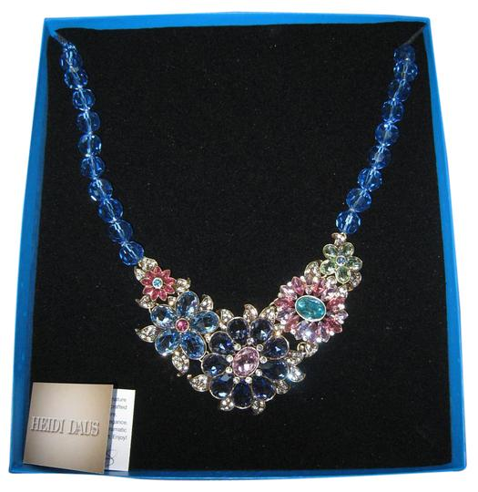 Preload https://item3.tradesy.com/images/heidi-daus-multi-colored-glorious-sapphire-necklace-20000747-0-1.jpg?width=440&height=440