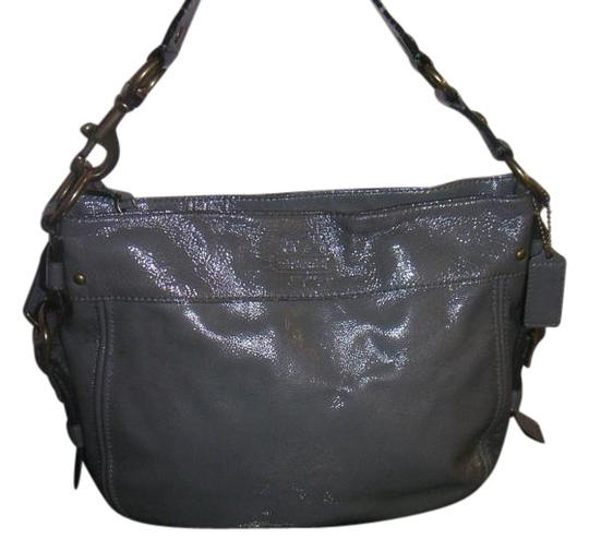 Preload https://item4.tradesy.com/images/coach-patent-zoe-12735-grey-leather-hobo-bag-20000753-0-1.jpg?width=440&height=440