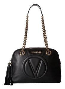 Valentino Leather Chain Shoulder Bag