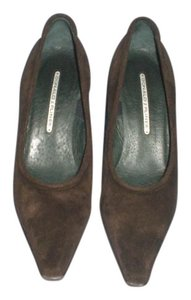 Donald J. Pliner Suede brown Pumps