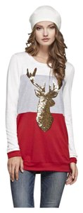 Other Pullover Holiday Oversized Sequin Festive Tunic
