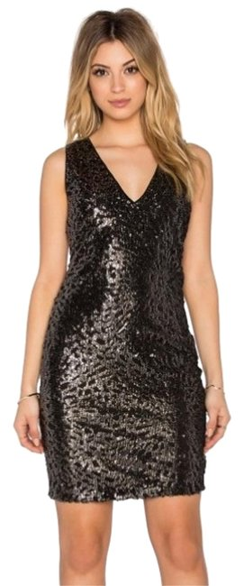 Preload https://item3.tradesy.com/images/1state-black-sequin-body-con-mini-cocktail-dress-size-0-xs-20000847-0-2.jpg?width=400&height=650