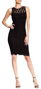 Bobeau short dress Black on Tradesy