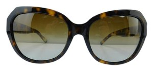 Tory Burch New TY 7071 1331/T5 Dark Tortoise Acetate Brown Gradient Lens 58mm