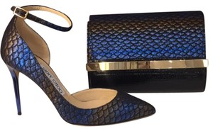 Jimmy Choo Blue Pumps