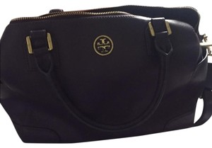 Tory Burch Robinson Satchel in purple