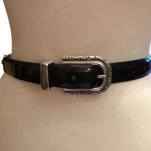 Brighton Black & Tortoise Design Belt