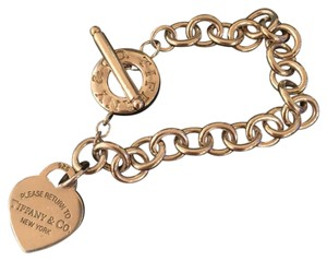 Tiffany & Co. Return to Tiffany's Tiffany & Co. Toggle Heart Bracelet
