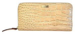 Kate Spade Crocodile embossed zippy wallet