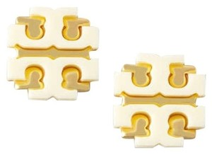 Tory Burch Tory burch Cream Stud earrings