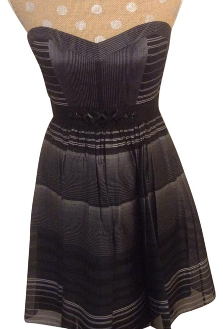 Preload https://item3.tradesy.com/images/bcbgmaxazria-black-with-white-stripes-jkh6d873-019-above-knee-cocktail-dress-size-6-s-20001312-0-1.jpg?width=400&height=650