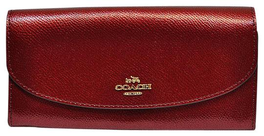 Preload https://item2.tradesy.com/images/coach-metallic-cherry-new-envelope-shimmer-leather-coins-phone-pockets-wallet-20001336-0-4.jpg?width=440&height=440
