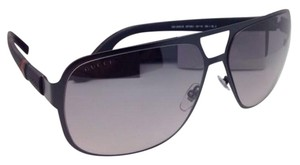 Gucci New GUCCI Sunglasses GG 2253/S M7AEU 62-14 Black Aviator w/Gray Fade
