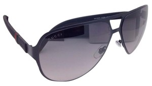 Gucci New GUCCI Sunglasses GG 2252/S M7AEU 62-13 Black Aviator w/ Grey Fade