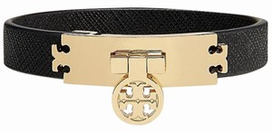 Tory Burch Tory Burch TURN-LOCK LEATHER BRACELET