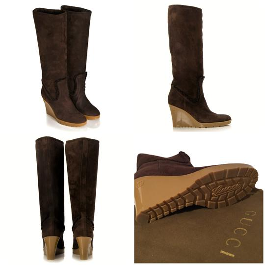 Preload https://item4.tradesy.com/images/gucci-new-with-cards-and-dust-cover-chocolate-shearling-bootsbooties-size-us-65-regular-m-b-20001518-0-4.jpg?width=440&height=440