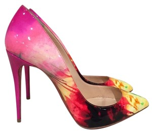 Christian Louboutin Pigalle Kate Follies Patent Stiletto pink Pumps