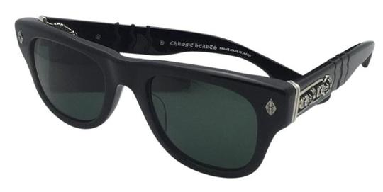 Preload https://img-static.tradesy.com/item/20001534/chrome-hearts-instagasm-bk-50-21-149-black-and-silver-new-frame-wgreen-sunglasses-0-0-540-540.jpg