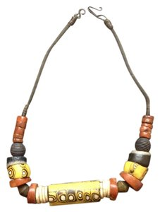Other PRICE DROPPED Inscribed Boho Bead Hook Clasp