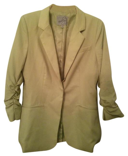 Preload https://item5.tradesy.com/images/audrey-31-green-fitted-blazer-size-8-m-20001569-0-1.jpg?width=400&height=650