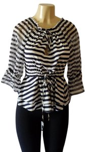 Alice + Olivia Top Striped