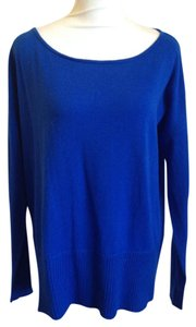 Diane von Furstenberg Dvf 100% Wool Oversized Scoop Neck Sweater
