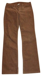 J.Crew Cords Corduroy Favorite Fit Straight Pants YELLOW