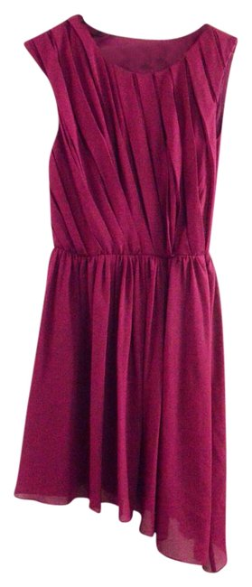 Preload https://item4.tradesy.com/images/miss-sixty-burgundy-pleated-asymmetrical-high-low-formal-dress-size-8-m-20001773-0-1.jpg?width=400&height=650