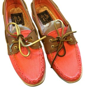 Sperry Coral pink Flats