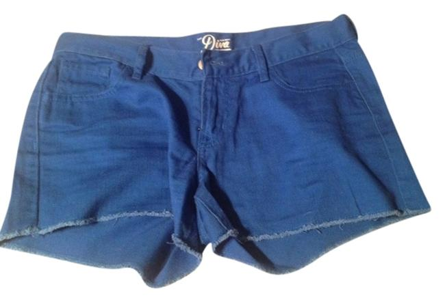 Old Navy Cut Off Shorts Bright Blue