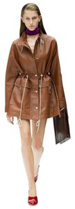 Acne Studios Cognac Brown Leather Jacket