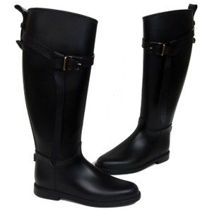 Burberry Nova Monoam Chanel Gucci Black Boots