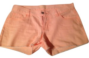 Old Navy Cut Off Shorts Light Orange Wash
