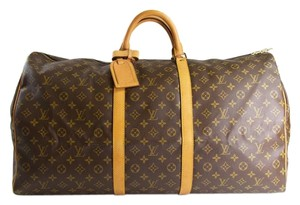 Louis Vuitton Lv Keepall monogram Travel Bag