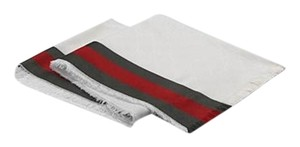 Gucci GG Silk Cotton Stole with Web