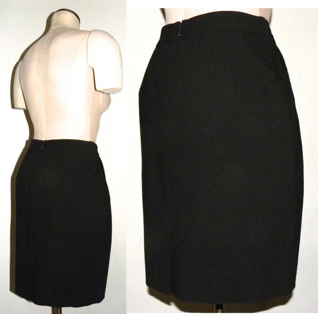 Ann Taylor Classic Career Knee Skirt Black