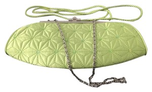 Katie Landry Lime Green Clutch