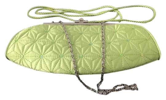 Preload https://item5.tradesy.com/images/shoulder-rhinestone-closure-lime-green-quilted-sequince-accent-clutch-20002304-0-1.jpg?width=440&height=440