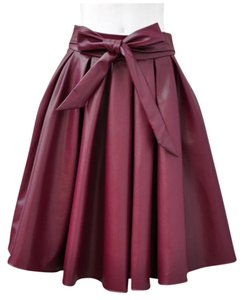 Gracia Skirt Burgundy
