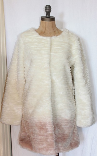 Willow & Clay Ombre Faux Fur Coat