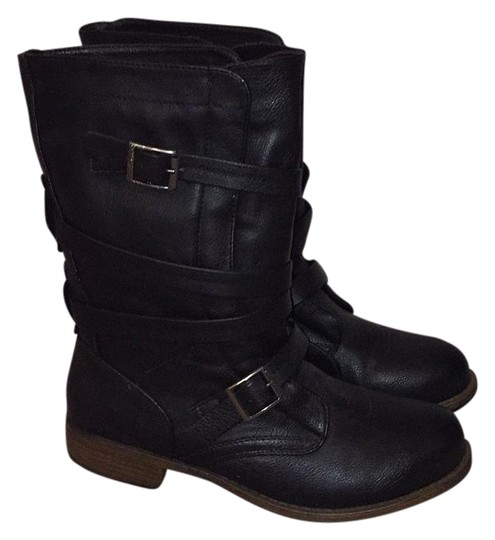 Preload https://img-static.tradesy.com/item/20002334/crown-vintage-black-bootsbooties-size-us-8-regular-m-b-0-1-540-540.jpg