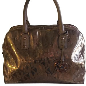 MICHAEL Michael Kors Satchel in Bronze