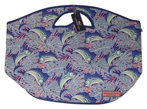 Vineyard Vines Breaker Blue Beach Bag